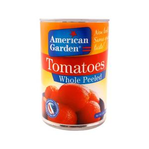 American Garden Tomato Whole Peeled 411g