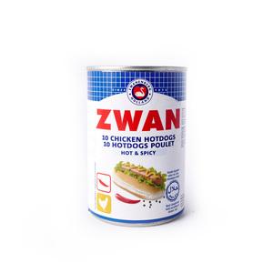 Zwan Chicken Hotdog Hot & Spicy 200g