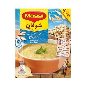Maggi Soup Oat With Chicken 12x65g