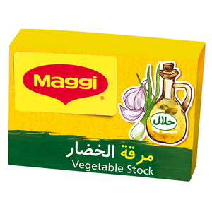 Maggi Vegetable With Olive Oil Stock Bouillon Outer 1x20g