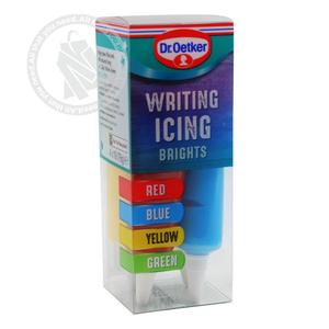 Dr Oetker Writing Icing 6x76g