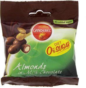 Canderel Almond Milk Choco 55g