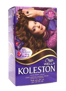 Wella Koleston Color Cream Kit   Chocolate Brown 6/7 142ml