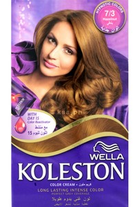 Wella Koleston Color Cream Kit Hazelnut 7/3 142ml