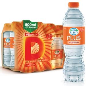 Al Ain Vitamin D Water 12x500ml