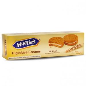 Mcvities Biscuit Digestive Vanilla Cream 110g