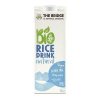 The Bridge Bio Rice Drink Natural 1l