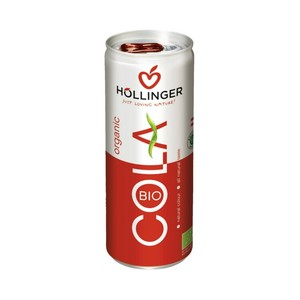 Hollinger Organic Cola Can 250ml