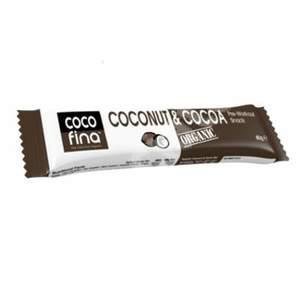 Cocofina Organic Coconut & Cocoa Bar 40g