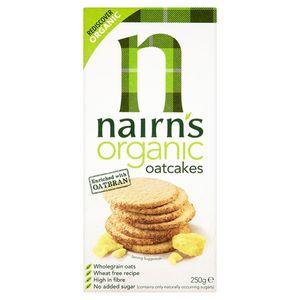 Nairn's Oatcakes   Organic 250g