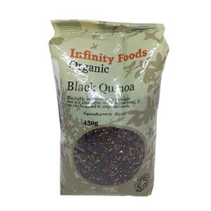 Organic Black Quinoa Grain 450g