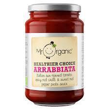 Mr Organic Arrabbiata Pasta Sauce 350g