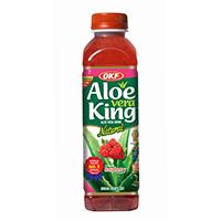 Okf Aloe Vera Raspberry 500 ml