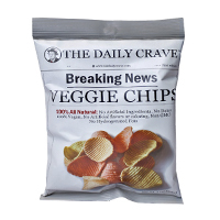Daily Fresh Crave Veggie Chips 28g