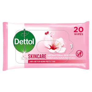 Dettol Skincare Antibacterial Skin Wipes 20s