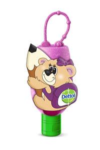 Dettol Original Hand Sanitizer With Bear Bag Tag 50ml