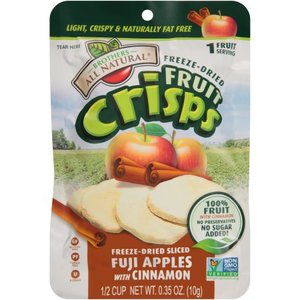 Freezedried Fuji Apple Fruit Crisps All Natural 10g