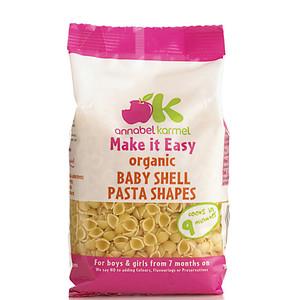Annabel Karmel Organic Baby Shell Pasta Shape 250g