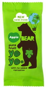 Bear Apple Real Fruit Yoyo 20g