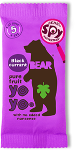 Bear Blackcurrent Real Fruit Yoyo 20g