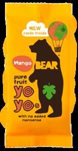 Bear Mango Real Fruit Yoyo 20g