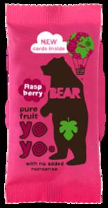 Bear Raspberry Real Fruit Yoyo 20g