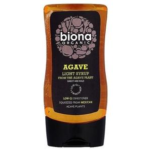 Agave Light Syrup Biona Organic 250ml