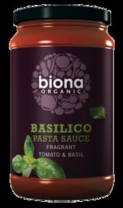 Biona Organic Basilico Tom Basil Pasta Sauce 350g