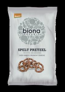 Biona Organic Spelt Pretzel With Sesame 125g