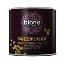 Sweetcorn Biona Organic 340g