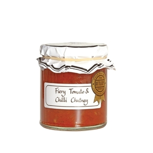 Fiery Tomato And Chilli Chutney Butlers Grove 285g