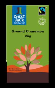 Fair Trade Ground Cinnamon Crazy Jack Organic 40g