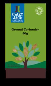 Coriander Crazy Jack Organic Ground 50g