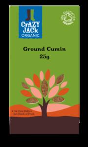 Cumin Crazy Jack Organic Ground 50g