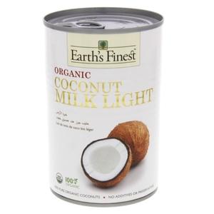 Coconut Light Cream Earths Finest Organic 400ml