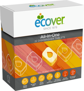 Ecover All In One Dishwasher Tablets 25pc