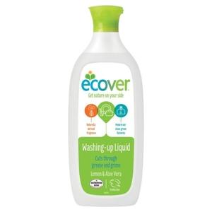 Washing Up Liquid Lemon & Aloe Vera Ecover 450ml