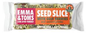 Seed Slice With Goji Berries Emma & Tom's 22g