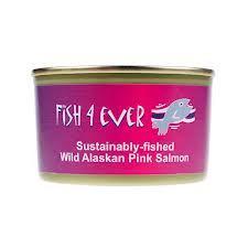 Wild Salmon Tinned Fish4 Ever  213g