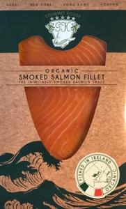 Gourmet House Organic Smoked Salmon Fillet 100g