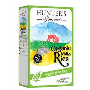 Hunter's Gourmet Organic White Rice 800g