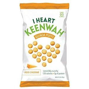 I Heart Keenwah Cheddar Puffs 85g