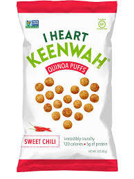 I Heart Keenwah Quinoa Puffs Sweet Chili 85g