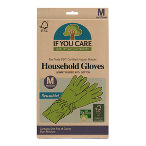 Household Gloves  If You Care size m