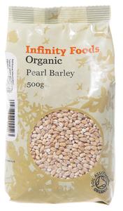 Pearl Barley  Infinity Organic 500g