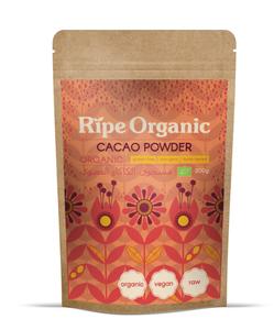 Ripe Organic Cacao Powder 200g