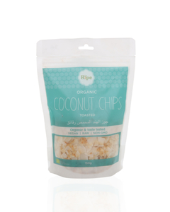Ripe Org Coconut Chips Toasted 100g