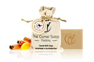 Orange & Cinnamon Soap  The Camel Soap Factory 100g