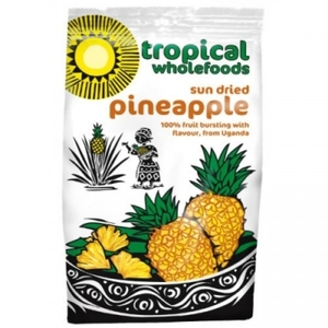 Tropical Whoefoods Organic Sundried Pineapple 100g