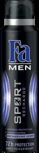 Fa Deodarant Spray Men Recharge 150ml